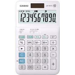 CASIO(カシオ) W税計算対応電卓 JW-100TC-N [W税率対応 /10桁] 【軽減税率対応】