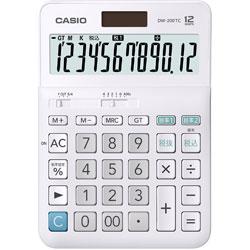 CASIO(カシオ) W税計算対応電卓 DW-200TC-N [W税率対応 /12桁] 【軽減税率対応】