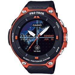 カシオ 【在庫限り】 スマートウォッチ 「Smart Outdoor Watch PRO TREK Smart」 (オレンジ) WSD-F20-RG