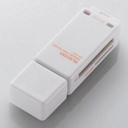 メモリリーダライタ/直挿しタイプ/SD系専用/ホワイト MR-K011XWH