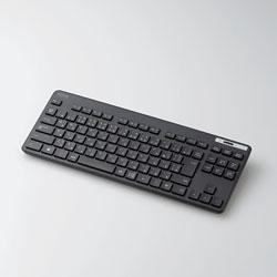 TK-FDM109TXBK 無線キーボード 薄型コンパクトモデル [USB/メンブレン式/ブラック]