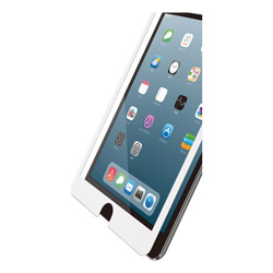 iPad mini 2019 保護フィルム ガラス フレーム付 ホワイト TB-A19SFLGFWH