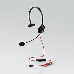 片耳オーバーヘッド 1.5m延長ケーブル付 PS4 Switch対応 ブラック HS-GM10BK PS5対応