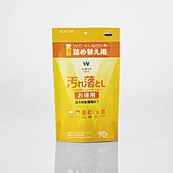 ウェットティッシュ/汚れ落とし/お得用/詰替/90枚 WC-AL90SPN