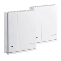 ELECOM(エレコム) Wi-Fiルーター 親機+中継器セット 1733+800Mbps  ホワイト WMC-2HC-W [ac/n/a/g/b]