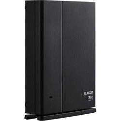 ELECOM(エレコム) Wi-Fi 6ルーター 親機単体 1201+574Mbps ブラック WMC-X1800GST-B [Wi-Fi 6(ax)/ac/n/a/g/b]