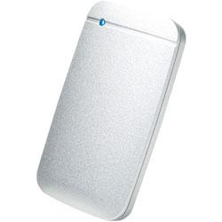 ESD-EF1000GSVR 外付けSSD USB-C+USB-A接続 (PS4対応) シルバー [ポータブル型 /1TB]
