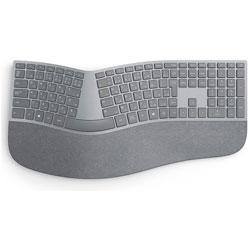マイクロソフト(Microsoft) ワイヤレスキーボード[Bluetooth 4.0・Win/Mac] Surface Ergonomic Keyboard (日本語版・シルバー) 3RA-00017