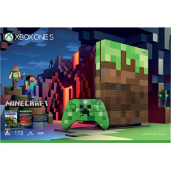Xbox One S 1TB Minecraft リミテッド エディション[ゲーム機本体]