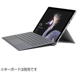 マイクロソフト(Microsoft) Surface Pro (Office付き・Win10 Pro・12.3型・Core m3・128GB・4GB) 2018年モデル FJR-00016 シルバー