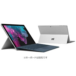 マイクロソフト(Microsoft) Surface Pro 6 (Win10 Home・Core i7・12.3インチ・Office付き・SSD 256GB・メモリ 8GB) KJU-00014 シルバー