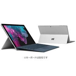 マイクロソフト(Microsoft) 【10/16発売予定】 Surface Pro 6 (Win10 Home・Core i7・12.3インチ・Office付き・SSD 1TB・メモリ 16GB) KJW-00014 シルバー
