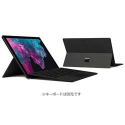 マイクロソフト(Microsoft) 【10/16発売予定】 Surface Pro 6 (Win10 Home・Core i7・12.3インチ・Office付き・SSD 256GB・メモリ 8GB) KJU-00023 ブラック