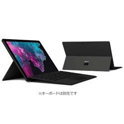 マイクロソフト(Microsoft) 【10/16発売予定】 Surface Pro 6 (Win10 Home・Core i7・12.3インチ・Office付き・SSD 512GB・メモリ 16GB) KJV-00023 ブラック