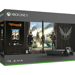 Xbox One X(ディビジョン2 同梱版) CYV-00270