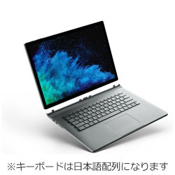 Surface Book2 15.0 Core i7 16GB 512GB GPU FUX-00023 シルバー