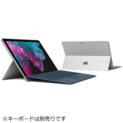マイクロソフト(Microsoft) Surface Pro 6 [Core i7・12.3インチ・SSD 512GB・メモリ 16GB] KJV-00027 シルバー