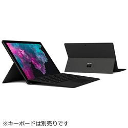 マイクロソフト(Microsoft) Surface Pro 6 Windowsタブレット KJV-00028 ブラック [12.3型・Core i7・SSD 512GB・メモリ 16GB]