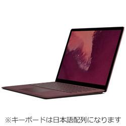 Surface Laptop2 13.5 Core i5 8GB 256GB LQN-00060 バーガンディ