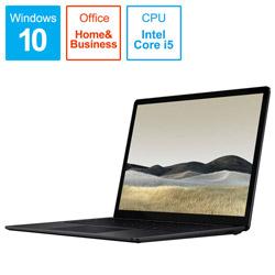 ノートパソコン Surface Laptop 3(サーフェス ラップトップ3) ブラック VPT-00032 [13.5型 /intel Core i5 /SSD:256GB /メモリ:16GB /2020年3月モデル]