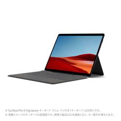Surface Pro X(サーフェス プロ X) 【LTE対応】 ブラック 1WT-00024 [13.0型 /Microsoft SQ2 /メモリ:16GB /SSD:256GB /2020年10月モデル]