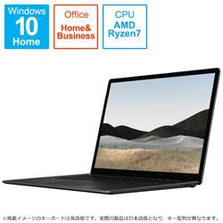 Surface Laptop4 15.0 Ryzen7 8GB 512GB 5W6-00043 ブラック