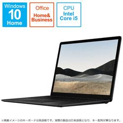 Microsoft(マイクロソフト) Surface Laptop 4(サーフェス ラップトップ 4)  ブラック 5BT-00016 [13.5型 /intel Core i5 /SSD:512GB /メモリ:8GB /2021年4月モデル]
