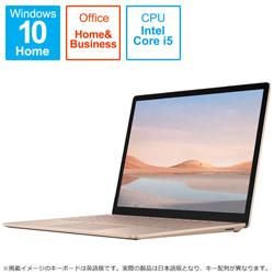 Microsoft(マイクロソフト) Surface Laptop 4(サーフェス ラップトップ 4)  サンドストーン 5BT-00064 [13.5型 /intel Core i5 /SSD:512GB /メモリ:8GB /2021年4月モデル]