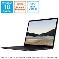 Surface Laptop4 15.0 Core i7 32GB 1TB 5IV-00015 ブラック