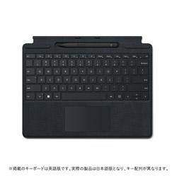 Microsoft(マイクロソフト) スリム ペン 2 付き Surface Pro Signature キーボード  ブラック 8X6-00019