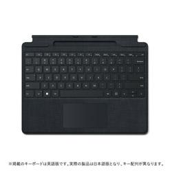 Microsoft(マイクロソフト) Surface Pro Signature キーボード  ブラック 8XA-00019