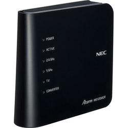 NEC(エヌイーシー) PA-WG1200CR wifiルーター Aterm(エーターム) ブラック [ac/n/a/g/b]