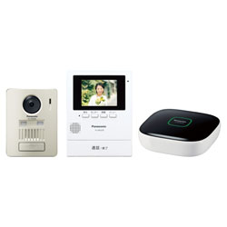 Panasonic(パナソニック) モニター壁掛け式 ワイヤレステレビドアホン VL-SGZ30K
