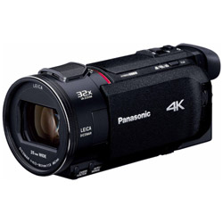 SD対応 64GBメモリー内蔵4Kビデオカメラ  ブラック HC-WXF1M [4K対応]