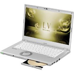 パナソニック(Panasonic) モバイルノートPC レッツノート LV CF-LV72DGQR シルバー [Win10 Pro・Core i5・14.0インチ・Office付き・SSD 256GB・メモリ 8GB]