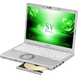 パナソニック(Panasonic) モバイルノートPC レッツノート SV CF-SV72DFPR シルバー [Win10 Home・Core i5・12.1インチ・Office付き・SSD 128GB・メモリ 8GB]