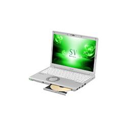 パナソニック(Panasonic) モバイルノートPC レッツノート SV CF-SV72FGQR シルバー [Win10 Pro・Core i5・12.1インチ・Office付き・SSD 256GB・メモリ 8GB]