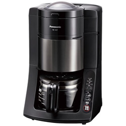Panasonic(パナソニック) NC-A57 コーヒーメーカー パナソニック ブラック [ミル付き]