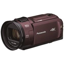 ビデオカメラ  カカオブラウン HC-WX2M-T [4K対応]