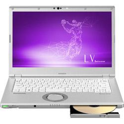パナソニック(Panasonic) モバイルノートPC Let's note LVシリーズ CF-LV7CDGQR シルバー [Win10 Pro・Core i5・14.0インチ・Office付き]