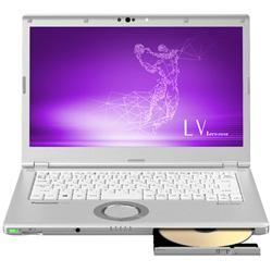 パナソニック(Panasonic) モバイルノートPC Let's note LVシリーズ CF-LV7CFBQR シルバー [Win10 Pro・Core i5・14.0インチ・Office付き]
