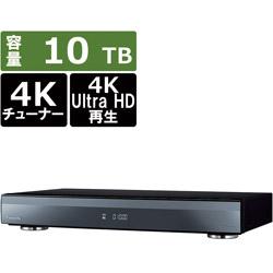 ブルーレイレコーダー DIGA(ディーガ)  DMR-4X1000 [10TB /全自動録画対応 /BS・CS 4Kチューナー内蔵]