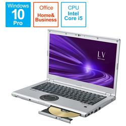 ノートパソコン レッツノート LVシリーズ ブラック&シルバー CF-LV9CDMQR [14.0型 /intel Core i5 /SSD:256GB /メモリ:16GB /2021年1月モデル]