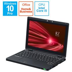ノートパソコン レッツノート RZシリーズ(LTE タッチパネル) ブラック CF-RZ8QFMQR [10.1型 /intel Core i5 /SSD:256GB /メモリ:16GB /2021年1月モデル]