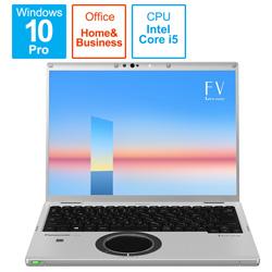 ノートパソコン レッツノート FVシリーズ ブラック&シルバー CF-FV1FDMQR [14.0型 /intel Core i5 /メモリ:16GB /SSD:512GB /2021年6月モデル]
