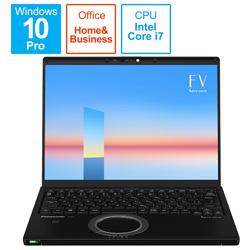 Panasonic(パナソニック) ノートパソコン レッツノート FVシリーズ(LTE) ブラック CF-FV1GFNQR [14.0型 /intel Core i7 /メモリ:16GB /SSD:512GB /2021年6月モデル]