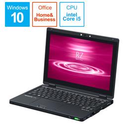 Panasonic(パナソニック) 【在庫限り】 ノートパソコン CF-RZ8NFMQR ブラック [10.1型 /intel Core i5 /SSD:256GB /メモリ:16GB /2020年01月モデル]