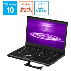 Panasonic(パナソニック) ノートパソコン CF-LV8PDNQR ブラック [14.0型 /intel Core i7 /SSD:512GB /メモリ:8GB /2020年01月モデル]