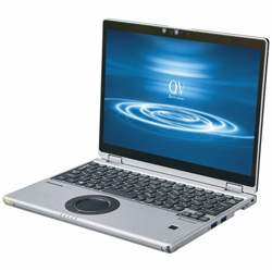 Panasonic(パナソニック) ノートパソコン CF-QV8NDMQR シルバー&ブラック [12.0型 /intel Core i5 /SSD:256GB /メモリ:16GB /2020年01月モデル]