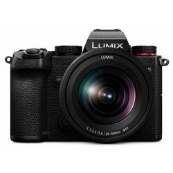 DC-S5K-K ミラーレス一眼カメラ LUMIX S5 標準ズームレンズキット  ブラック  [ズームレンズ]
